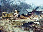 Ohio Man Bulldozes Home Before Foreclosure