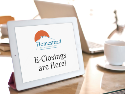 E-Closings are here